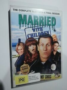 Married With Children The Complete Eleventh Season (Season 11) 3 Disc Set DVD GD