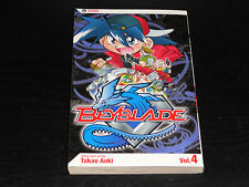 BEYBLADE Vol.4 Book Manga Graphic Novel Comic