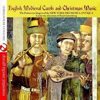 Noah Greenberg, New - English Medieval Carols & Christmas Music [New CD]