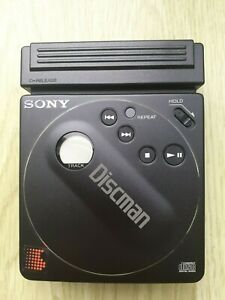 Vintage Sony Compact Discman D-88 CD Player with Case and Headphones