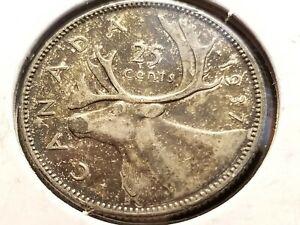 1937 Canada Silver Quarter, KM# 35     INV05     FL506