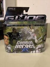 2008 GI JOE COMBAT HEROES 2008 RISE OF COBRA HEAVY DUTY & STORM SHADOW 2 Pack