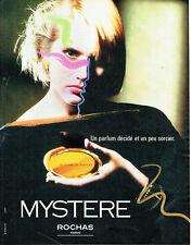 Publicité Advertising 107 1984   parfum Mystère de Rochas