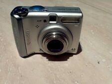 Canon PowerShot A520 4.0MP Digital Camera - Silver