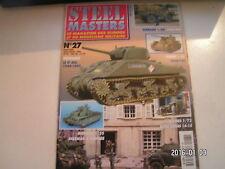 *** Revue Steel Masters n°27 La Rollbahn / 2e RCA 1944 1945 / Le T-35