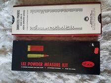 Original 1966 Lee Powder Measuring Kit Complete For Rifle Shotgun Cartridges
