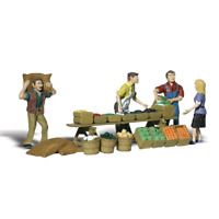 Woodland Scenics A2750 O Gauge Farmers Market Figures