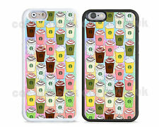 New colourful Starbucks coffee case cover for iPhone apple models