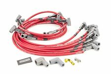 High Performance Under Header Chevy 350 HEI Spark Plug Wires Red Moroso 73686