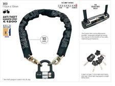 NEW - Magnum Plus 303 Chain Bike Motorbike Lock and Keys
