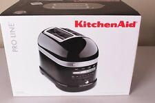 NIB KitchenAid Pro Line 2-slice Toaster black KMT2203OB onxy WILLIAMS SONOMA