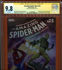 Amazing Spider-man 25 CGC 9.8 SS John Romita Sr. Sign - 1st app Superior Octopus