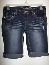 Rue 21, Stretch Denim Bermuda Shorts, Ladies Size 7/8, Item #171