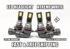 Factory Fit LED Headlight Bulb for GMC Sonoma High & Low Beam 1994-2004 Set of 4