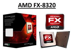 AMD FX-8320 Octa Core Processor 3.5 - 4.0 GHz, Socket AM3+, 125W CPU