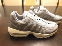 New Nike Air Max 95 Premium Atmosphere Grey Sneaker Shoes Size US 9.5