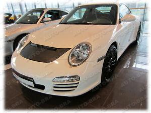 CAR HOOD BONNET BRA fit Porsche 911 Carrera Typ 997 2004-2011 FRONT END MASK
