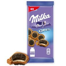 "Russian milk chocolate ""Milka"" with Oreo cookies 25% 92 gr (3.25 oz)"