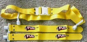 NFL Flag Football Flag Belt  Yellow New