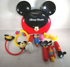 Disney Store Mickey Mouse Doctors Bag Kit Play Set Toy w/ Sounds & Lights