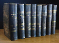 THE RAVEN in THE AMERICAN REVIEW Vols. 1-8 ~ EDGAR ALLAN POE 1st Edition 1845-48