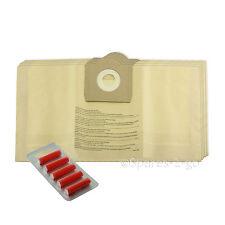5 x Canister Hoover Dust Bags for PARKSIDE Lidl Vacuum Cleaner  30 Litre Tub Bag
