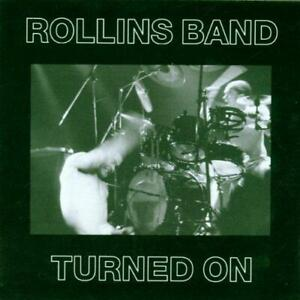 ROLLINS BAND – TURNED ON (NEW/SEALED) CD