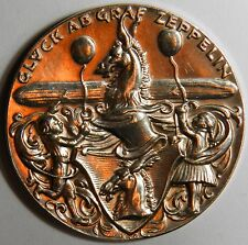 Karl Goetz Graf Zeppelin silver medal 1928 XF