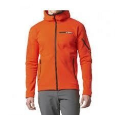 ADIDAS Climaheat Terrex Ultimate Hoodie Jacket Energy Orange BS2534 Mens New