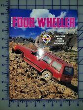 1997 Jeep Cherokee Four Wheeler of the Year Brochure Folder