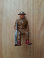 Vintage Barclay Lead Toy Soldier Sitting Position