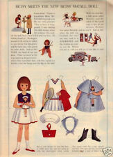 Betsy Meets The New Betsy McCall Doll-0Ctober 1964