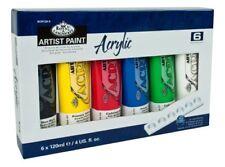 Royal & Langnickel Acrylique peinture D'artiste Ensemble de 6 x 120ml
