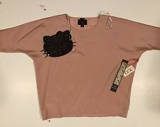 Hello Kitty Blush Top Size Small NWT Limited Edition