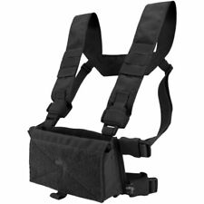Viper VX Buckle up Airsoft Tactical Modular Utility Pouch Chest Rig Vest Black