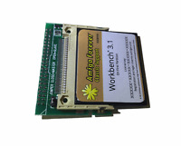 Neu Winkel Cf 2.5 Ide 44 Polig Adapter + Lizenziert Werkbank 3.1 Amiga 600 1200