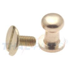 10er Pack Beil Taschenknopf Beiltaschenknopf 9mm Messing Schraubniete