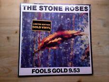 "The Stone Roses Fools Gold 9.53 ORIGINAL SEALED GOLD 12"" Vinyl Record 1315-1-JD"