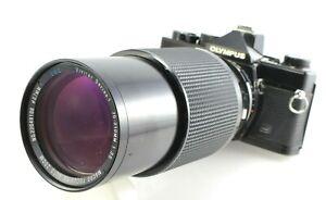 VIVITAR SERIES 1 70-210mm f3.5 Macro Zoom Lens w/ lens hood - OLYMPUS OM Mount