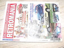 µµ Retromania n°125 Toyota Crown Panhard Dyna X Carrosseries Break commerciales