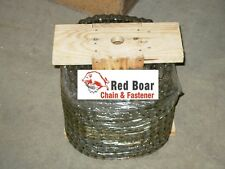 #41 ROLLER CHAIN 100FT  NEW FROM Red Boar Chain W/10 Free Connecting Links