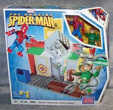 MEGA BLOKS THE AMAZING SPIDER-MAN MARVEL STREETSERIES DOCTOR OCTOPUS SET #2062