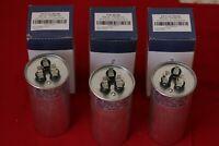 Lot(3) 80/5 80 + 5 uf MFD 370 / 440v Condenser Round Run Capacitor P291-8054RS