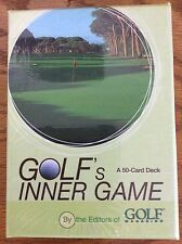 Golf's Inner Game_50-Card Deck_by Editors of Golf Magazine_New Unopened
