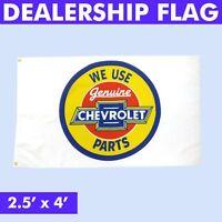 Chevrolet Dealer Flag hot street rod sbc nova chevy impala s10 camaro corvette