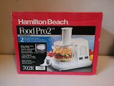 Vintage Hamilton Beach Food Processor 702R White - New in Box