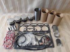 Kubota V1505 Overhaul Kit / Liners, Pistons, Rings, Bearings, Gasket Set