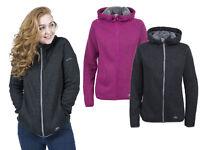Trespass Womens Fleece Jacket with Full Zip Female Walking Casual Hiking Valeo