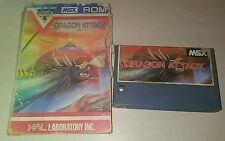 Dragon attack msx