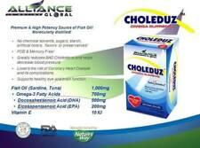AIM Global CHOLEDUZ OMEGA SUPREME DIETARY SUPPLEMENT High Potency Fish Oil 10gel